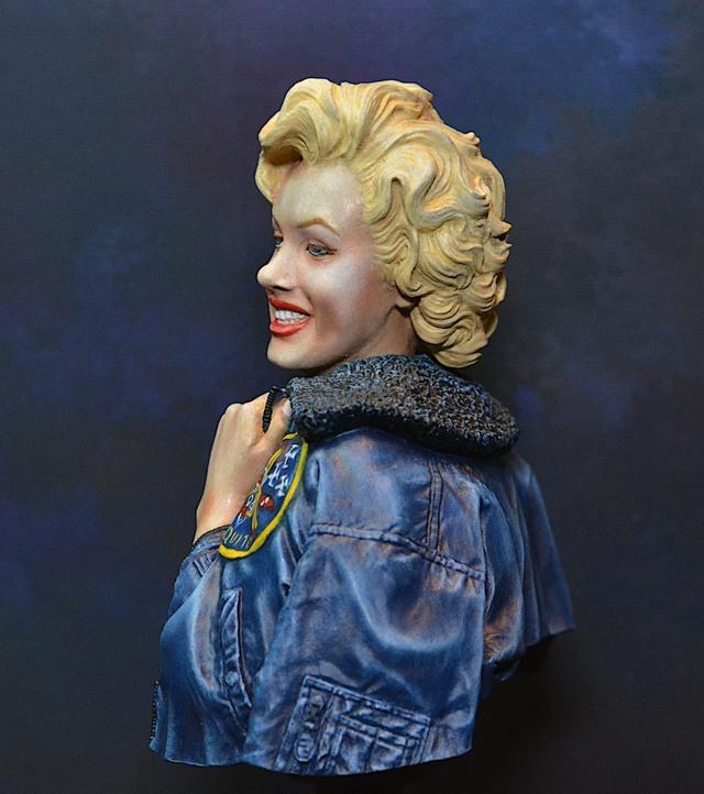 Marilyn Monroe: Korea USO Tour Février 1954.  FINIE 15021111082616819912953013