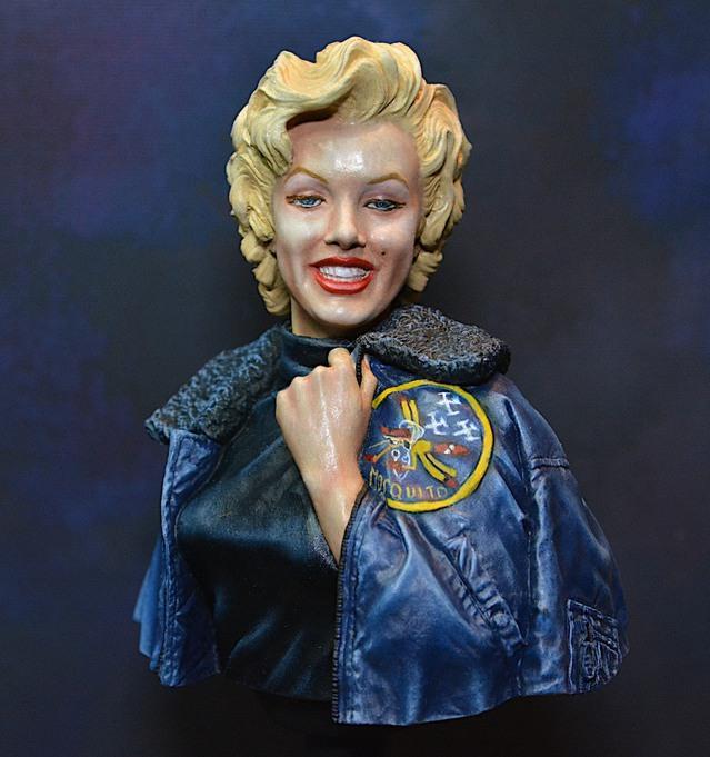 Marilyn Monroe: Korea USO Tour Février 1954.  FINIE 15021111084116819912953016
