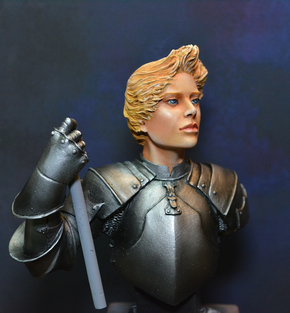 The Messenger, Jeanne d' Arc - buste Fer Miniatures - mise à jour du 13/02 15021310095012278512959490