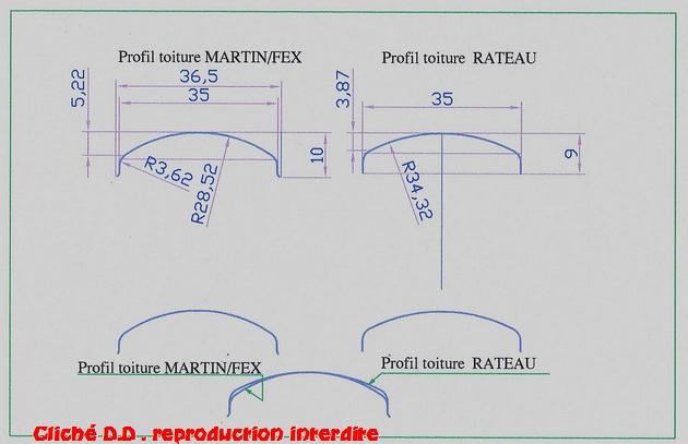 WAGONS MARTIN/FEX-MINIATRAIN 4 éme série 1953/54 1ère partie wagons longueur 23 cm 15021409285816773112963318