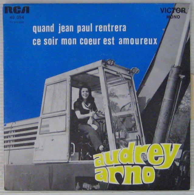 ARNO AUDREY - Quand Jean-Paul rentrera - 7inch (SP)