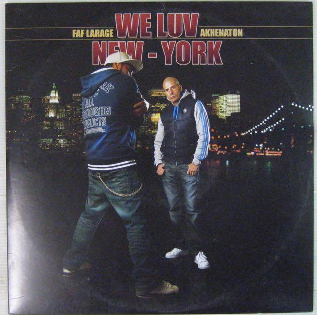 FAF LARAGE/AKHENATON - We luv New-York - Maxi 45T