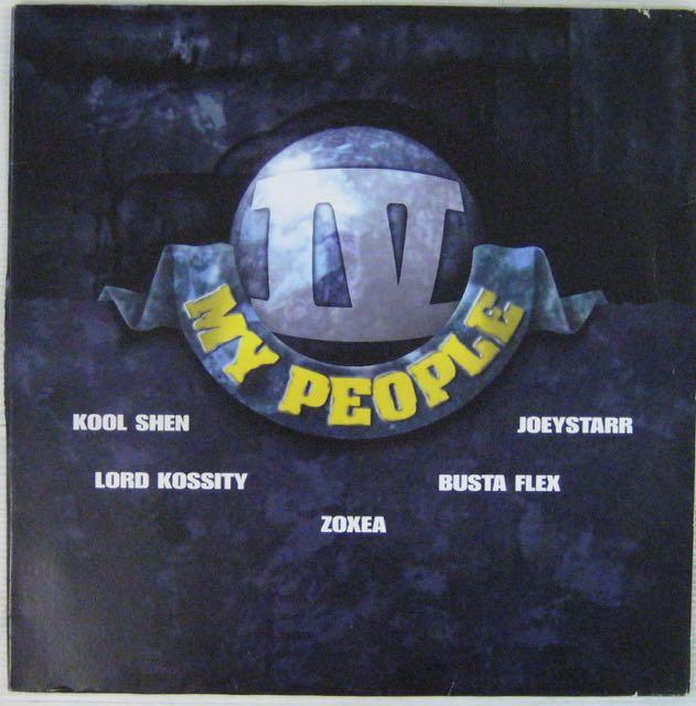 KOOL SHEN JOEYSTARR BUSTA FLEX ZOXEA - IV my people - Maxi 45T