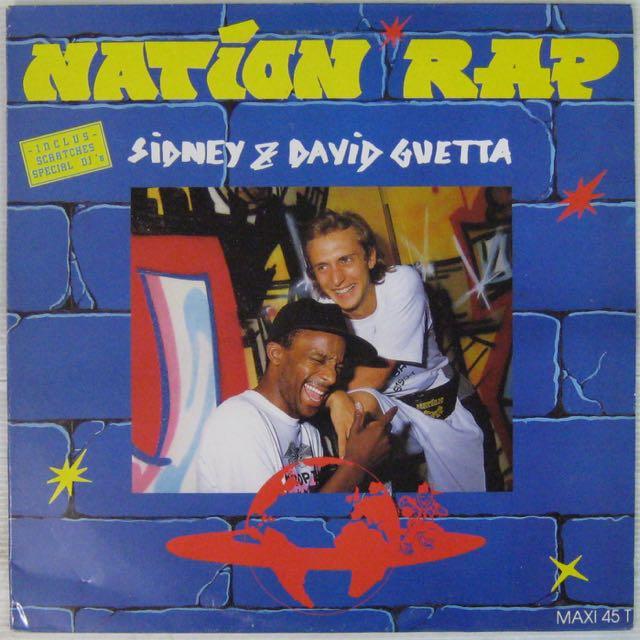 SIDNEY ET DAVID GUETTA - Nation Rap - Maxi 45T