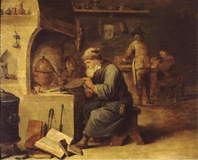 L'Alchimiste sous le regard des peintres 15022307024919075513001715