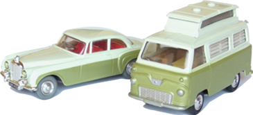 Ford Thames & Bentley S Corgi-Toys