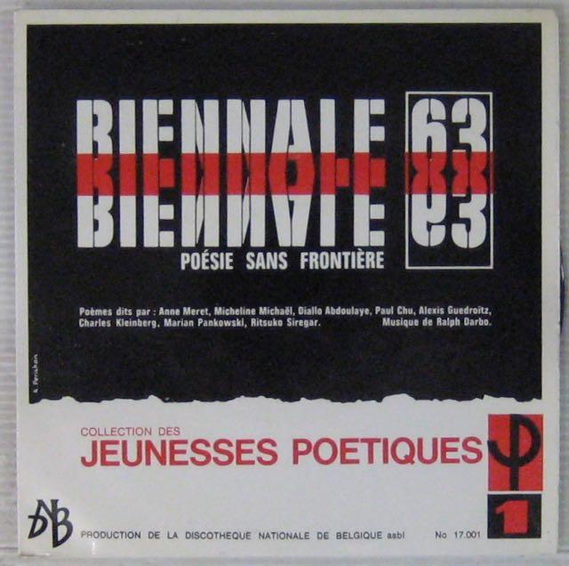 ARTISTES DIVERS - Biennale 63 - Poèsie sans frontière - 7inch (EP)