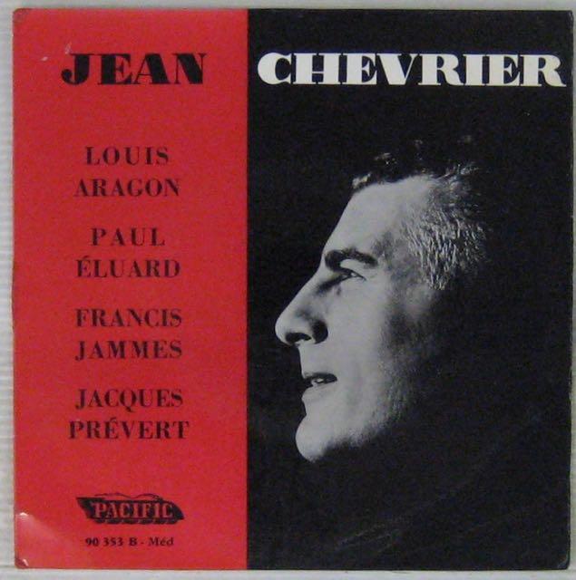 CHEVRIER JEAN - Aragon Eluard Jammes Prévert - 7inch (EP)