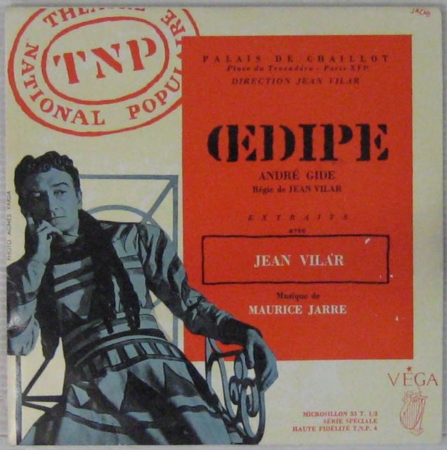 GIDE ANDRÉ - Oedipe - 7inch (EP)