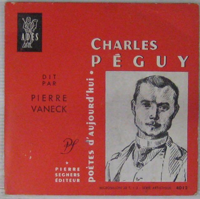 PÉGUY CHARLES - Par Pierre Vaneck - 7inch (EP)