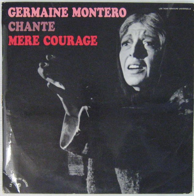 MONTERO GERMAINE - Chante Mère Courage - LP