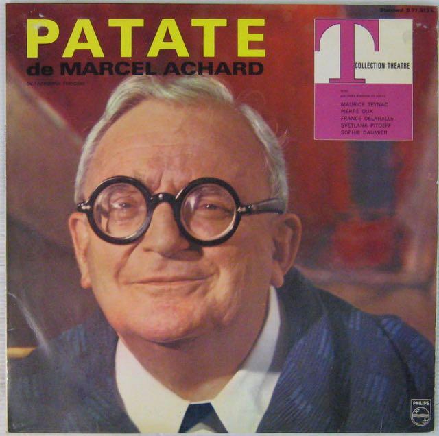 ACHARD MARCEL - Patate - LP
