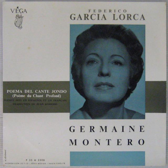 MONTERO GERMAINE - Chante Federico Garcia Lorca - 10 inch