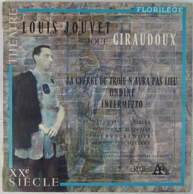JOUVET LOUIS - Joue Giraudoux - LP