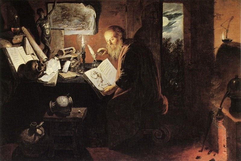L'Alchimiste sous le regard des peintres 15022707034419075513017850