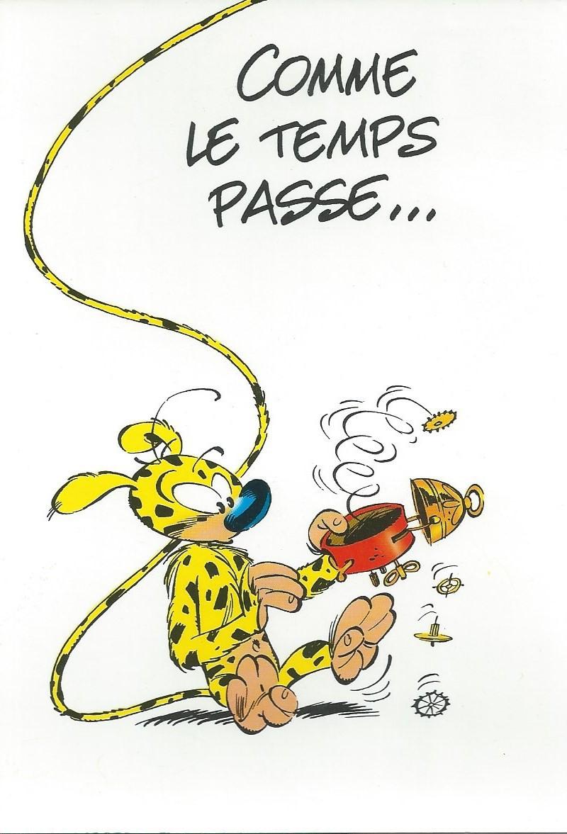 """Réf 4 CPM /"""" ILLUSTRE par FRANQUIN /"""" ED TOUCAN Carte Postale MARSUPILAMI"""