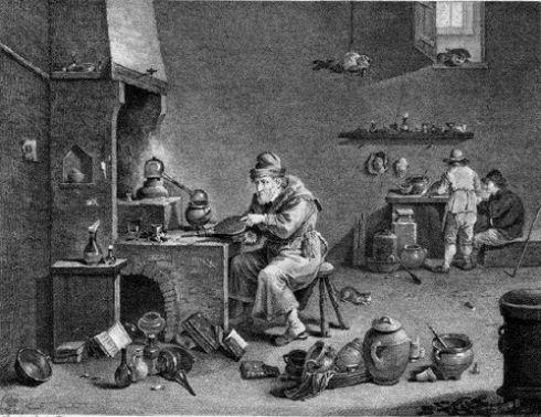 L'Alchimiste sous le regard des peintres 15030106321219075513024720