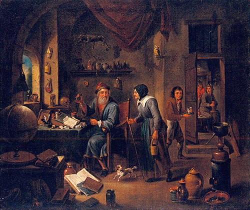 L'Alchimiste sous le regard des peintres 15030106505519075513024819