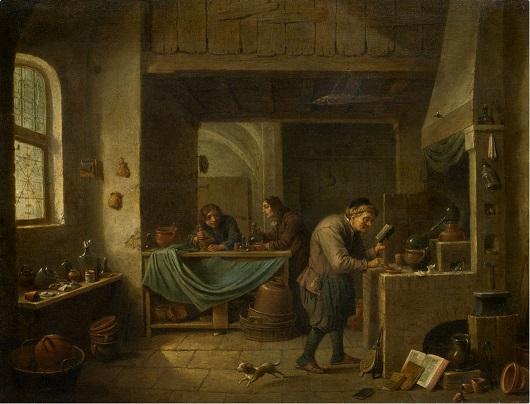 L'Alchimiste sous le regard des peintres 15030207422219075513029615