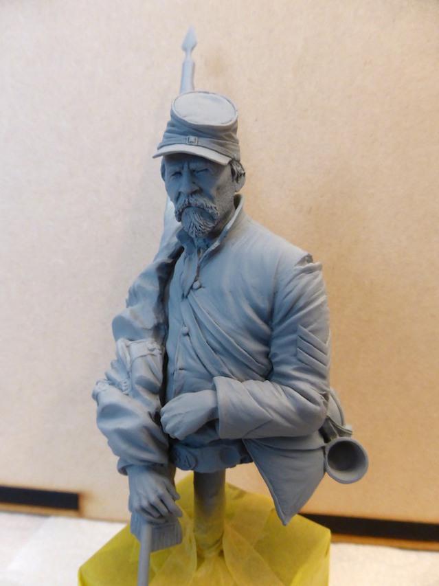 Le buste du 10th Tennessee Irish Brigade  - mise à jour du 7/04  par Gabriel FINI 15030301514016819913031361
