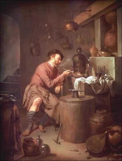 L'Alchimiste sous le regard des peintres 15030306442519075513032781