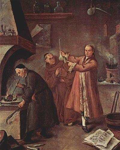 L'Alchimiste sous le regard des peintres 15030309422419075513033489