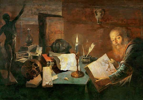 L'Alchimiste sous le regard des peintres 15030310075319075513033540