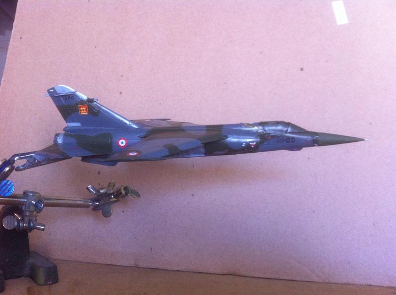 honneur au Mirage F1 : le F1 CT 1503031143126230013031133