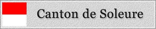 SOLEURE : Canton 1503040352531858213034603