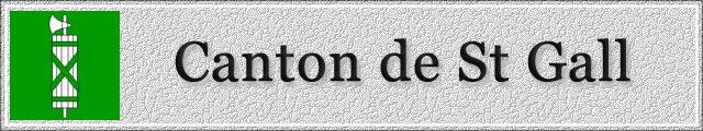 SAINT-GALL : Canton 1503040352541858213034604