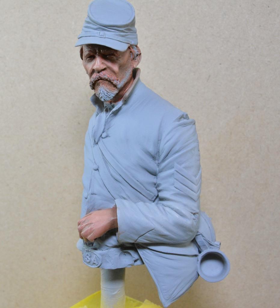 Le buste du 10th Tennessee Irish Brigade  - mise à jour du 7/04  par Gabriel FINI 15030404590812278513034807
