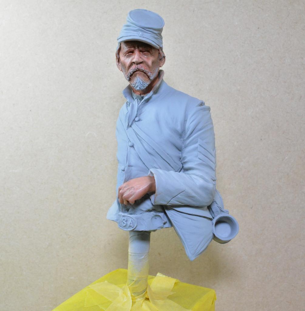 Le buste du 10th Tennessee Irish Brigade  - mise à jour du 7/04  par Gabriel FINI 15030404591612278513034810