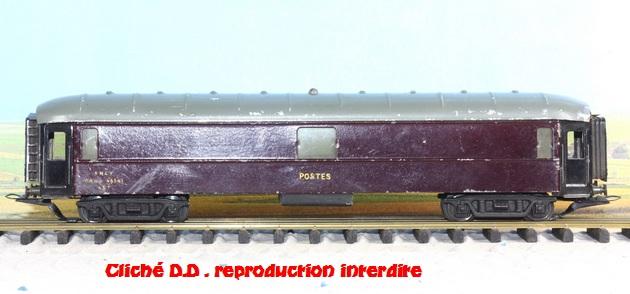 WAGONS MARTIN/FEX-MINIATRAIN 4 éme série 1953/54 1ère partie wagons longueur 23 cm 15031009311416773113055044