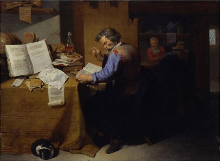L'Alchimiste sous le regard des peintres 15031310200219075513066640