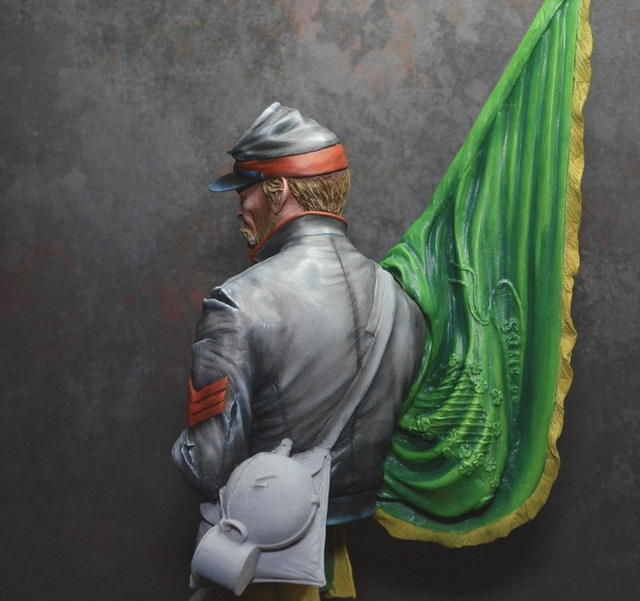 Le buste du 10th Tennessee Irish Brigade  - mise à jour du 7/04  par Gabriel FINI - Page 3 15031506184616819913072703