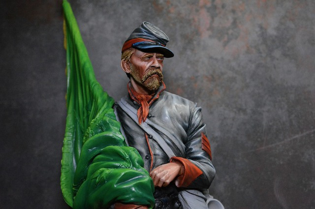Le buste du 10th Tennessee Irish Brigade  - mise à jour du 7/04  par Gabriel FINI - Page 3 15031506233016819913072760