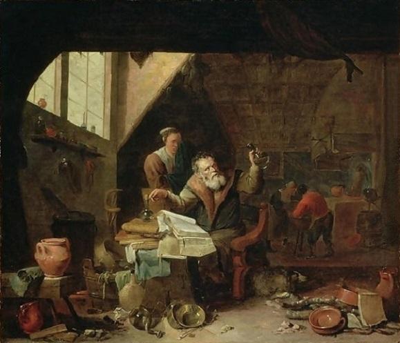 L'Alchimiste sous le regard des peintres 15031609520119075513076955