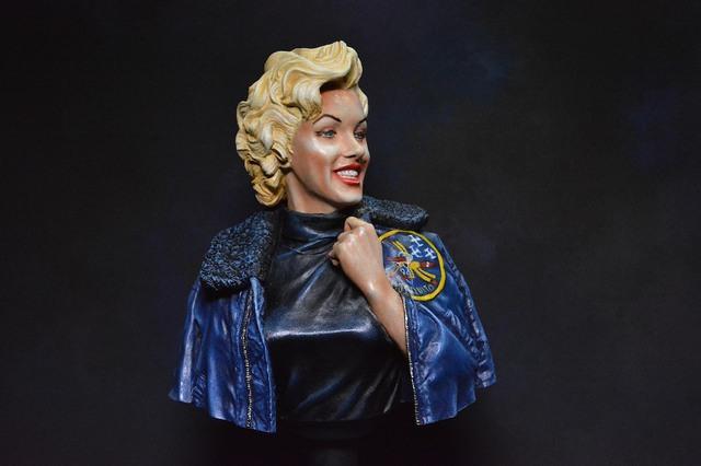 Marilyn Monroe: Korea USO Tour Février 1954.  FINIE 15031611123816819913074837