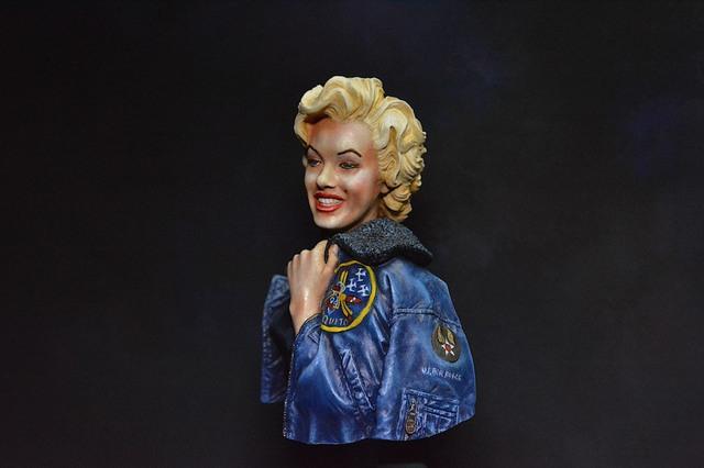 Marilyn Monroe: Korea USO Tour Février 1954.  FINIE 15031611124116819913074838