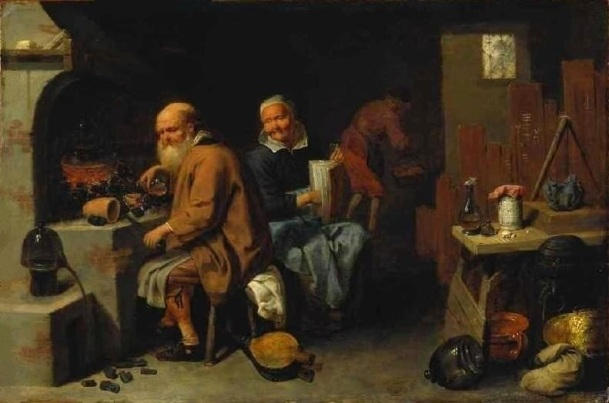 L'Alchimiste sous le regard des peintres 15032206595819075513095098