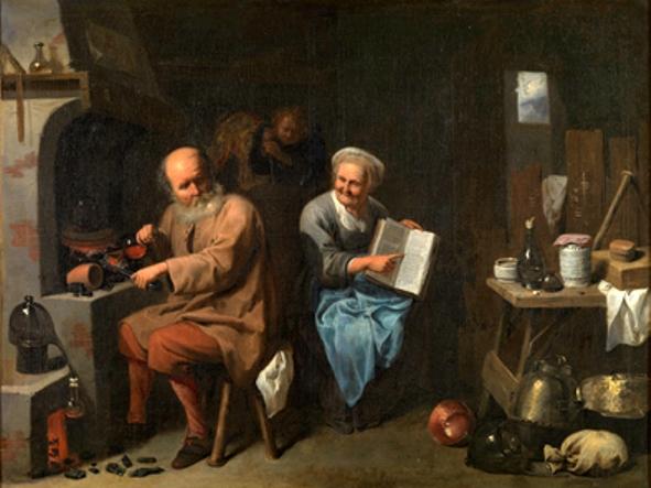 L'Alchimiste sous le regard des peintres 15032207000119075513095099