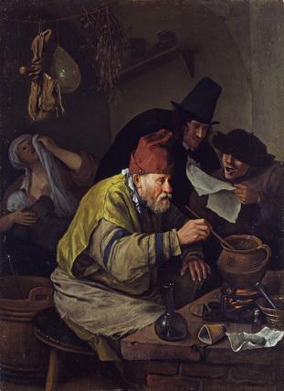 L'Alchimiste sous le regard des peintres 15032309292219075513098386