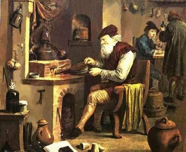 L'Alchimiste sous le regard des peintres 15032608322719075513108895
