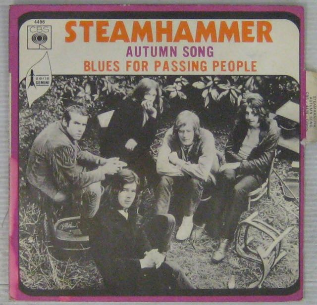 STEAMHAMMER - Automn song - 7inch (SP)