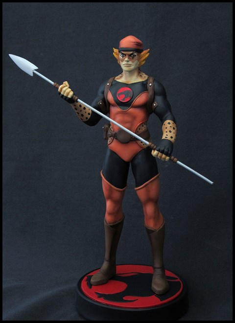 Thundercats : Bobcat statue by Nimajneb 15032905401216083613118931