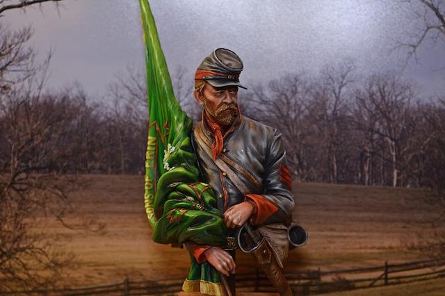 Le buste du 10th Tennessee Irish Brigade  - mise à jour du 7/04  par Gabriel FINI - Page 4 15040411395316819913139121