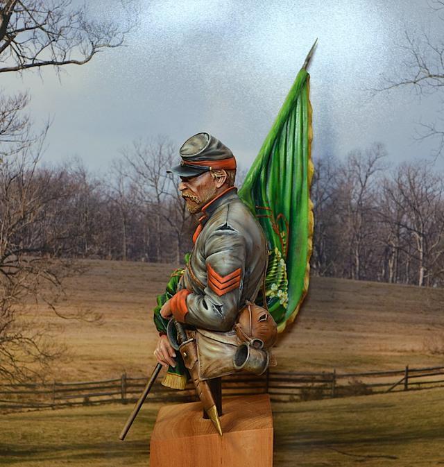 Le buste du 10th Tennessee Irish Brigade  - mise à jour du 7/04  par Gabriel FINI - Page 4 15040411410316819913139132