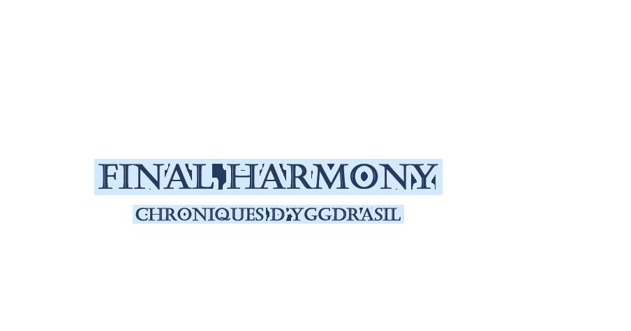 Final Harmony