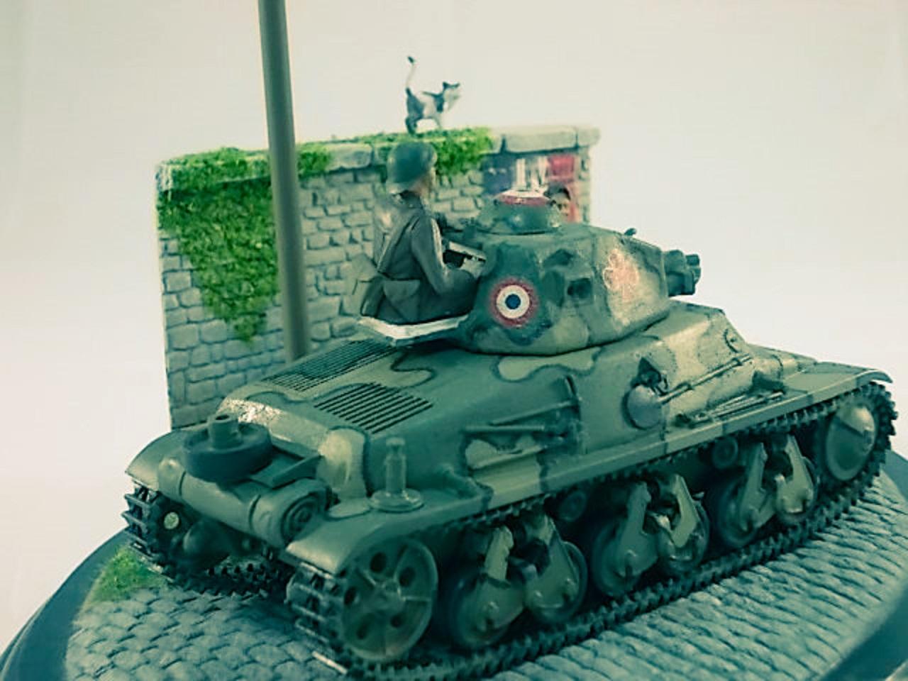 Diorama H-35 Campagne de France... 15040504295810194413142633