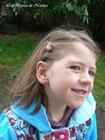 bijoux fantaisie fimo enfant hibou barrette puce acier inoxydable